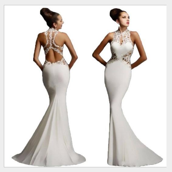 Vestido De Novia Fiesta Importado. Super Hermosa ! Yl228b