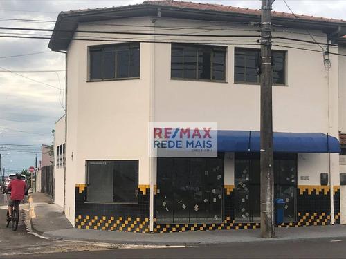 Salão À Venda, 291 M² Por R$ 890.000,00 - Vila Nova Botucatu - Botucatu/sp - Sl0003