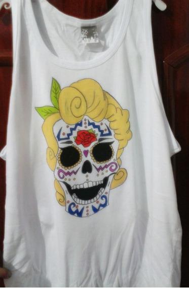 Camisa Caveira Mexicana