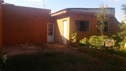 Casa Para Venda Em Tatuí, Residencial Astória, 3 Dormitórios, 1 Banheiro, 2 Vagas - 667_1-1664578