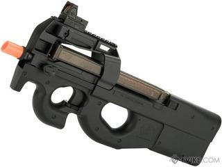 Subfusil Fn P90 Airsoft Cal.6mm Con Pila Y Cargador