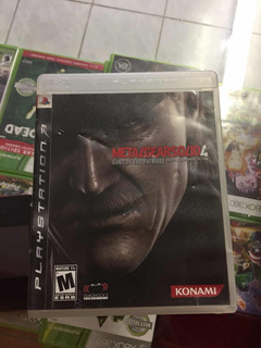 Metal Gear Solid 4 Playstation 3