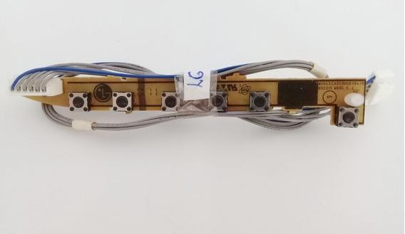 Painel De Botões Lg W1943c Eax59066704