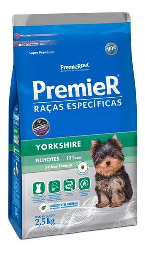 Premier Raças Específicas Yorkshire Filhotes 2,5kg