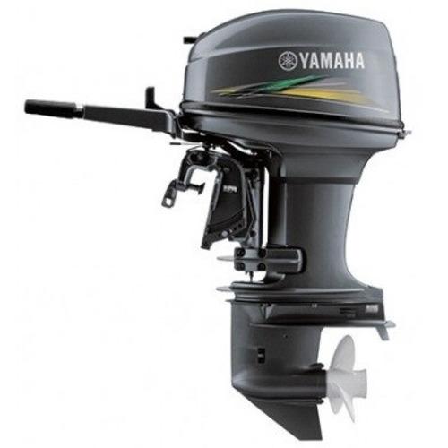 Motor De Popa Yamaha 40 Hp Partida Manual Okm 12 X Cartao