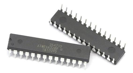 Microcontrolador Atmega328 P Pu Ci Chip Para Arduino Dip28