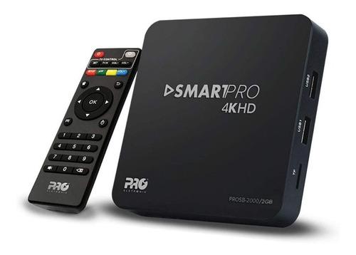Imagem 1 de 3 de Conversor De Tv Wifi 4k 2gb Prosb-2000/2gb