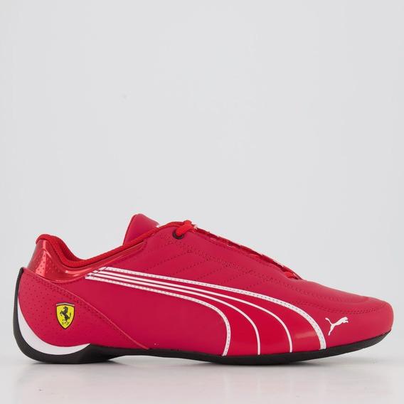 Tênis Puma Scuderia Ferrari Future Kart Cat Vermelho