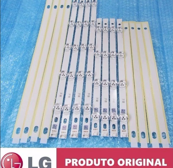 Kit Barras De Led Tv Lg 39ln5400 39ln5700 39la6200 8 Barras!