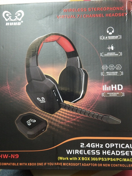 Fone Wireless Hw-n9 Huhd 7.1 Surround Xbox360/one/ps3/ps4/pc