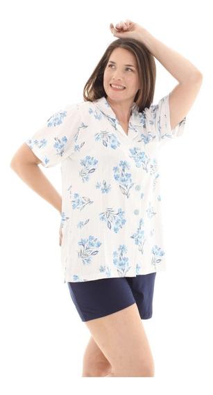 Pijama Vernano Mujer Talles Super Grandes Art 603