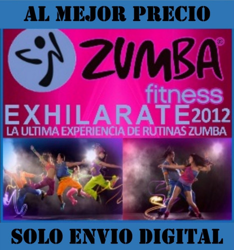 Zumba Fitness Exhilarate 9 Videos En Español Bailoterapia