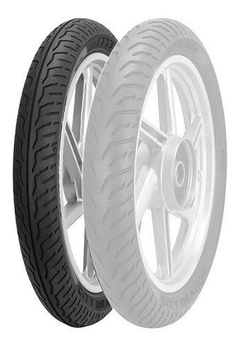 Cubierta Pirelli City Dragon 80 100 18 C/c 47p Riderpro®