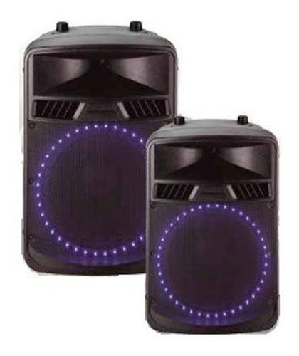 Bafle Ross Portatil Audio 12 Pulgadas 100 Watts Bluetooth