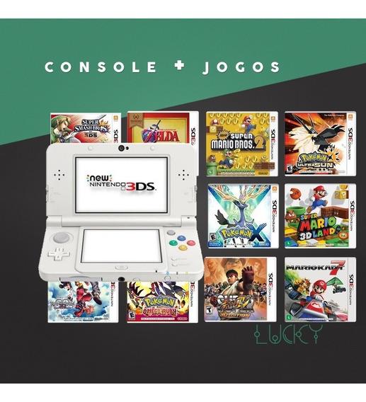 New Nintendo 3ds - Edição Especial + Jogos Instalados!