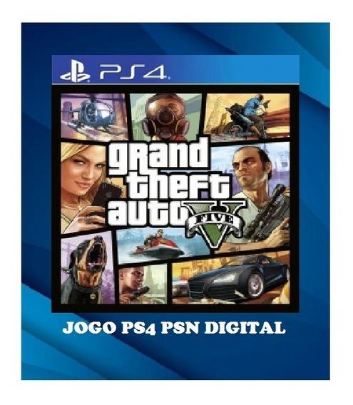 Gta 5 Grand Theft Auto Ps4 1 Psn Legendas Em Português