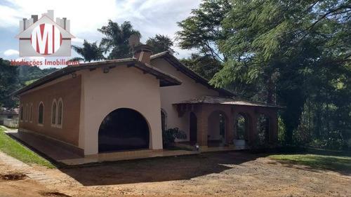Imagem 1 de 30 de Linda Chácara Com 4 Dormitórios, Rica Em Água, Piscina, Área Gourmet, Pomar, Cascata, À Venda, 7000 M² Por R$ 680.000 - Zona Rural, Pinhalzinho - Sp - Ch0246