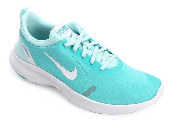 Tênis Nike Flex Experience Rn 8 Feminino - Verde Água - Nº34