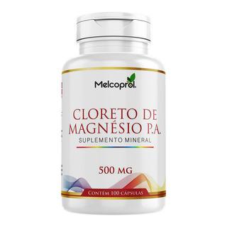 Cloreto De Magnésio P.a. - 100 Cápsulas - Melcoprol