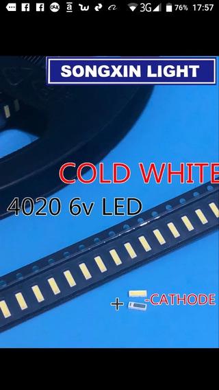 Kit 30 Led 4020 Smd 6v 1w Ph39e53sg Ph58e53sg Philco