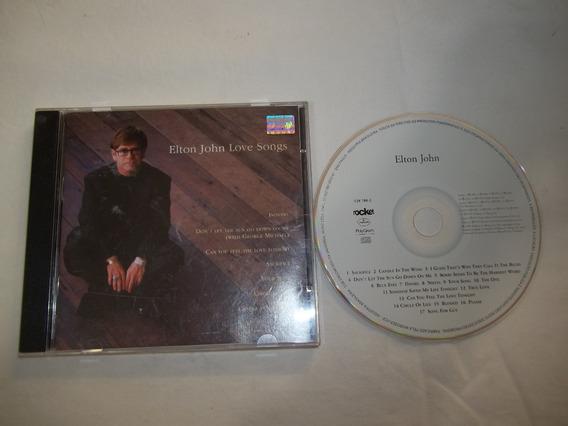 Cd - Elton John - Love Songs