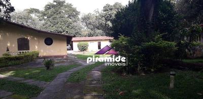 Chácara Com 5 Dormitórios À Venda, 4184 M² Por R$ 1.800.000 - Jardim Uirá - São José Dos Campos/sp - Ch0087