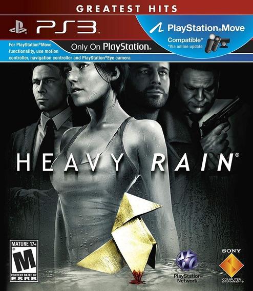 Heavy Rain - Ps3 - Mídia Física