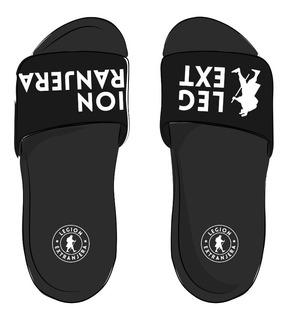 Slider Sandals Carbon