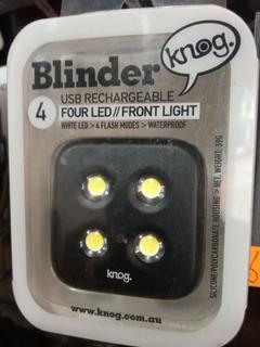 Luz Linterna Led Para Bicicleta Blinder Knog