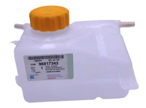 Deposito Envase Reservorio Agua Aveo Con Tapa Original Gm