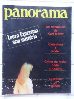 Revista Panorama Nº 269 - Loura Fantasma - Caricatura - 1979