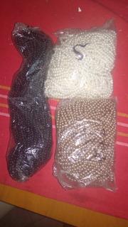 Cadena De Perlas De 5 Mm Paquete De 12 Collares De Perlas