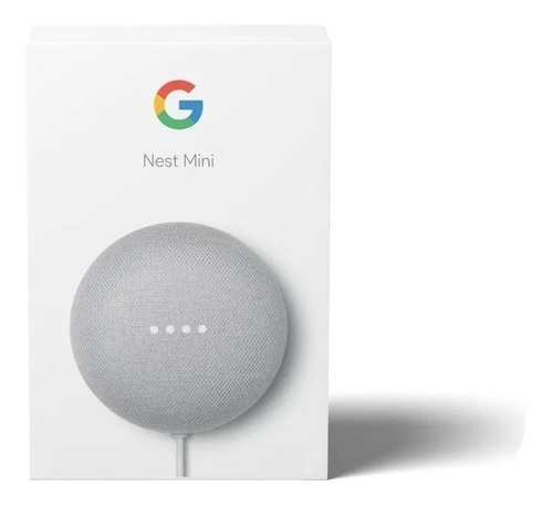 Google Home Nest Mini 2da Generación Original Chalk Domotica