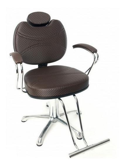 Poltrona Cadeira Hidr Fixa Topazio-moveis Salao De Beleza