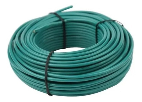 Cable 8 Thw Awg Pvc 75°c 600v X10 Mts Cabel /
