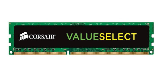 Memoria Ram Pc Corsair Value Select 4gb Ddr3 1600 Mhz Dimm