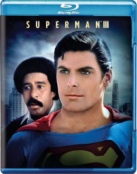Superman 3 Tres Christopher Reeve Pelicula Blu-ray