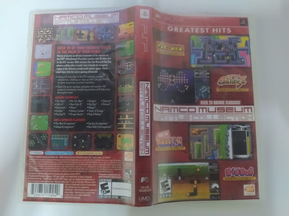 Namco Museum Battle Collection / Sony Psp - Completo!