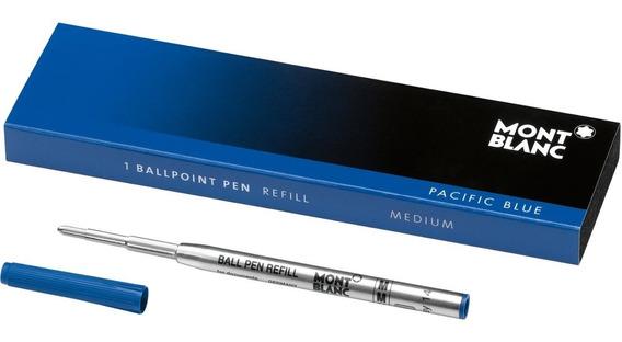 Refil Carga Balpen Azul Média Para Caneta Mont Blanc Orignal