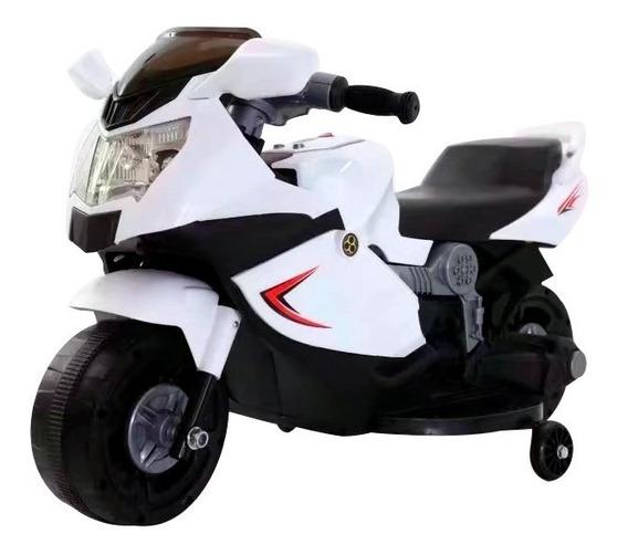 Moto Elétrica Infantil C/ Luzes E Som Frente Ré 6v Inmetro