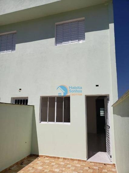 Casa Com 2 Dormitórios Para Alugar Por R$ 1.500/mês - Portais (polvilho) - Cajamar/sp - Ca0125