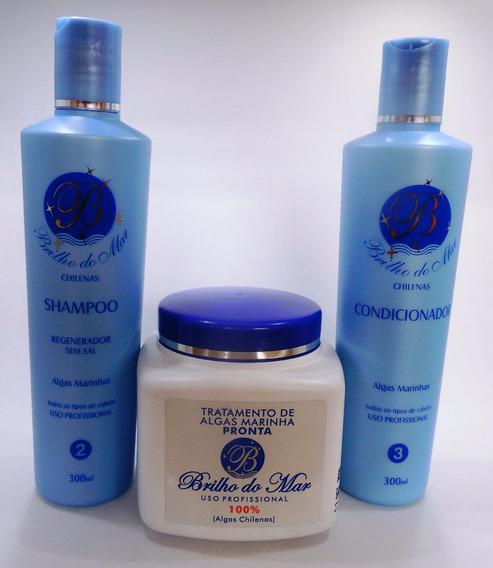 Shampoo Condicionador E Tratamento De Algas Marinhas Chilena - Produtos De Tratamento Capilar