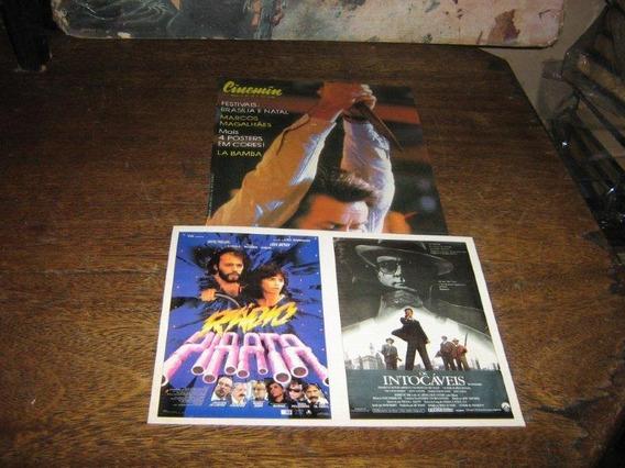 Cinemin Nº 38 Com Poster Os Intocaveis /radio Pirata Ebal