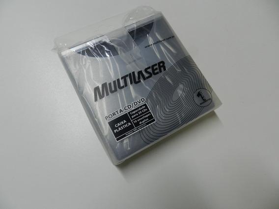 Porta Cd E Dvd Multilaser