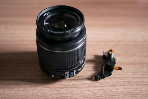 Lente Canon Ef-s 18-55mm Is Ii + Motor Foco (leia Descrição)
