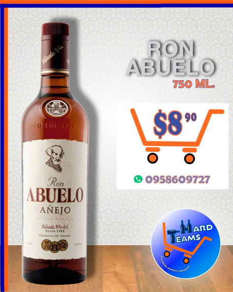 Ron Abuelo - Whisky Highland Legend - Tequila Rancho Calient