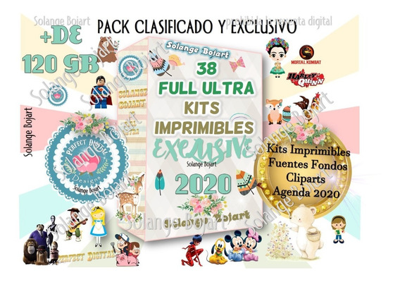 33 Super Kit Imprimible Diamante Full Empresa Agosto 2019