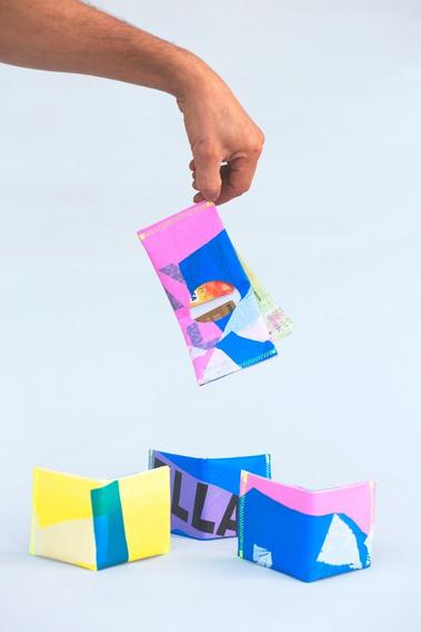 Billetera Chirola By Bancala Reciclada Plástico Ldpe#4