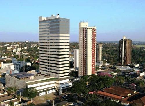Imagem 1 de 30 de Sa0003 Sala Comercial Para Locação No Torre Marechal - Centro De Foz Do Iguaçu - Sa0003