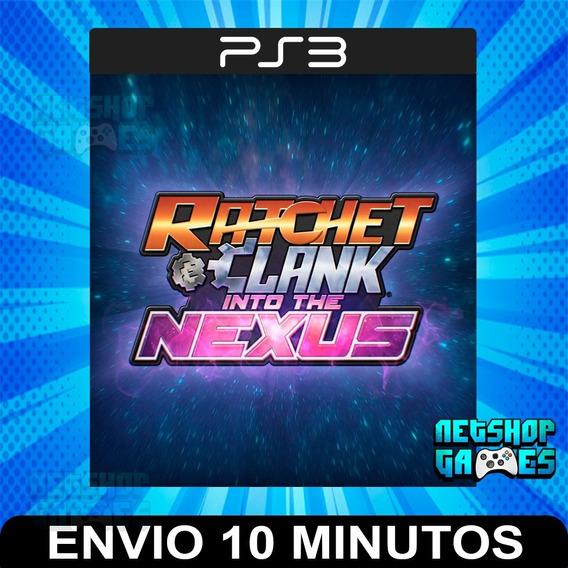 Ratchet & Clank:into The Nexus - Psn Ps3 - Envio Imediato